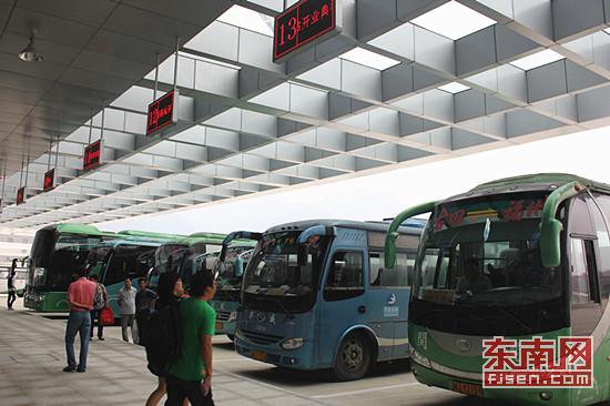 福州新客运西站今起运营 省内规模最大设施最完善高清图片
